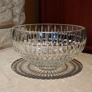 Fine Leaded Crystal Large Bowl